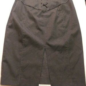 Charcoal Grey Pencil Skirt Size 4